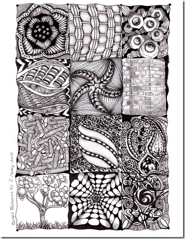 tangle patterns #2 dearley